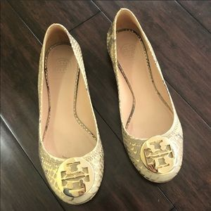 Tory Burch flats. Great condition